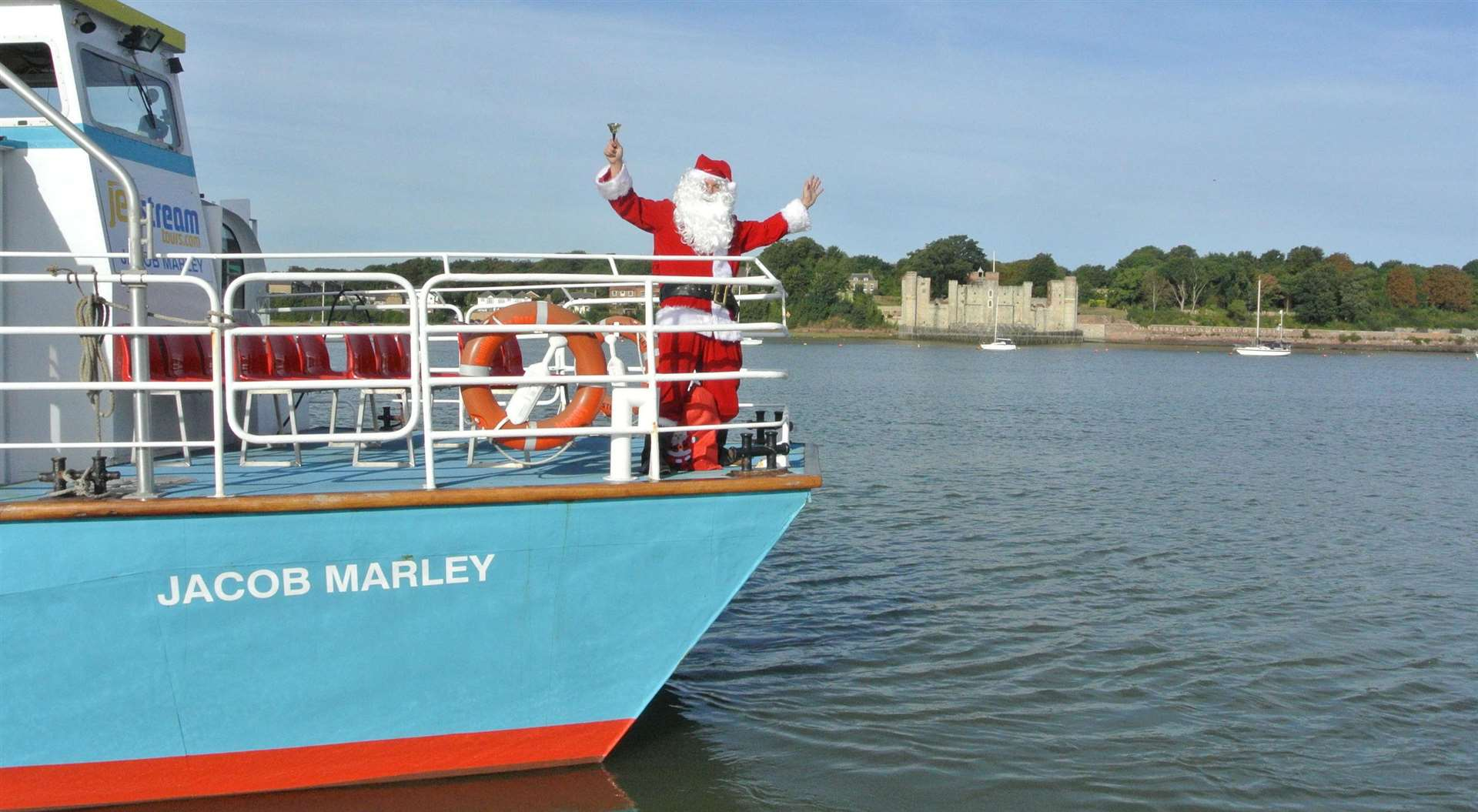 Jet Stream Tours are launching their Christmas Carol Sail with Santa