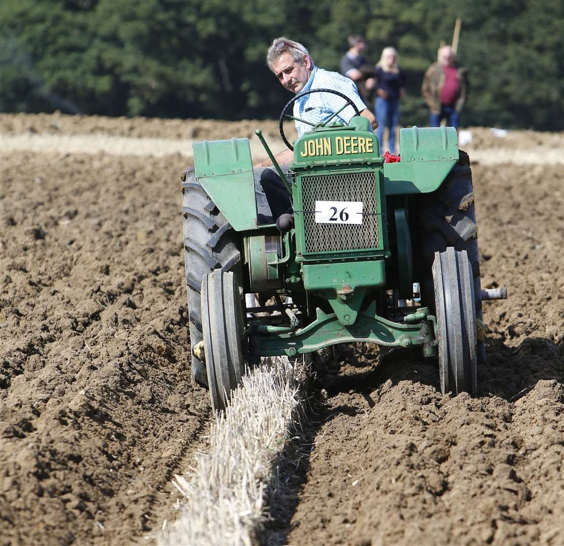 The Weald of Kent Ploughing Match last year Picture: Andy Jones