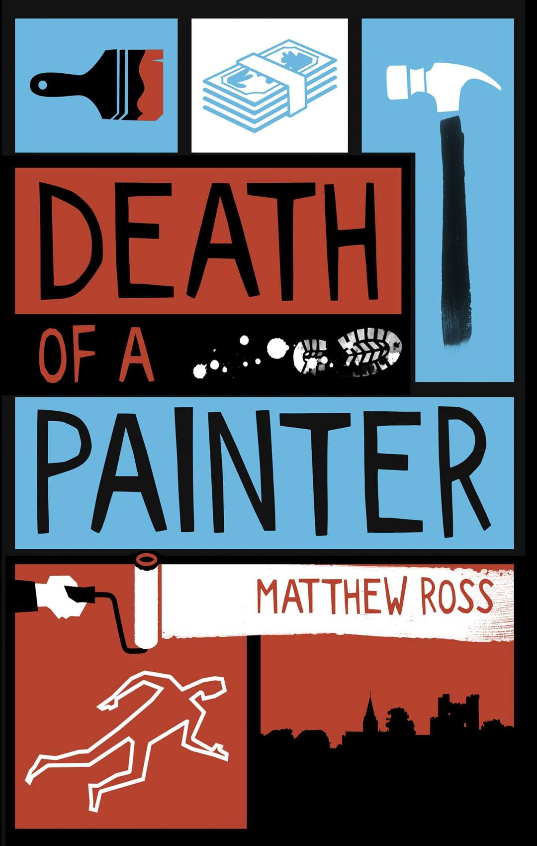 Death of a Painter was Matthew Ross's debut novel in 2020