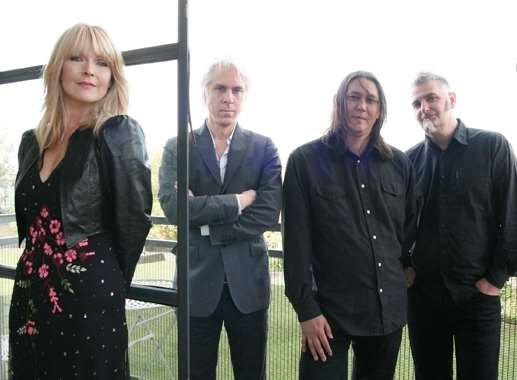 Toyah and the Humans, from left, Toyah Willcox, Bill Reiflin, Chris Wong and Igor Abuladze