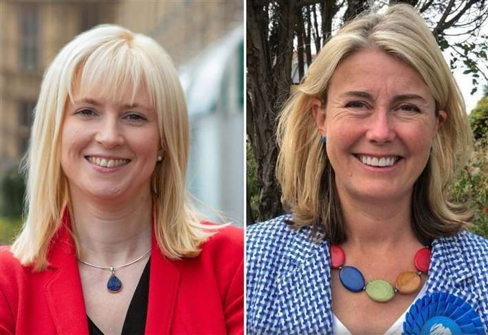 Rosie Duffield defeated Conservative candidate Anna Firth