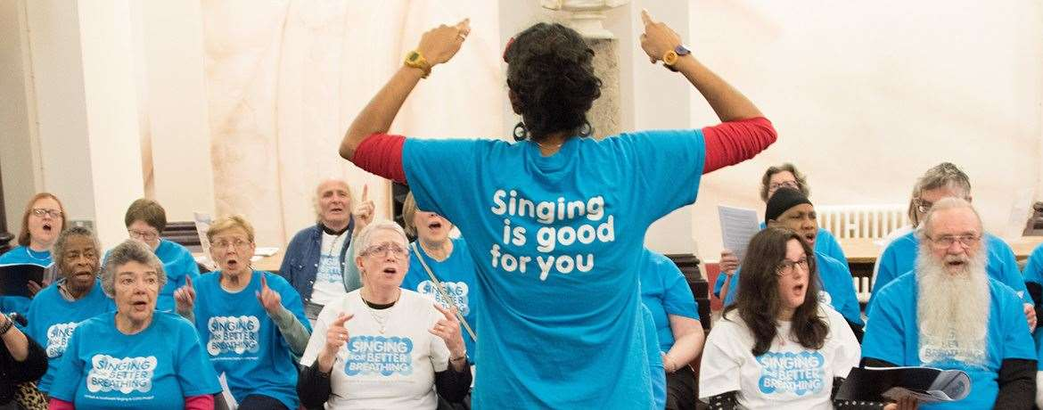 Those interested in taking part in the singing group study in Medway can contact the Sidney De Haan Research Centre for Arts and Health on 07515 191 712 or email sdhcentre@canterbury.ac.uk.