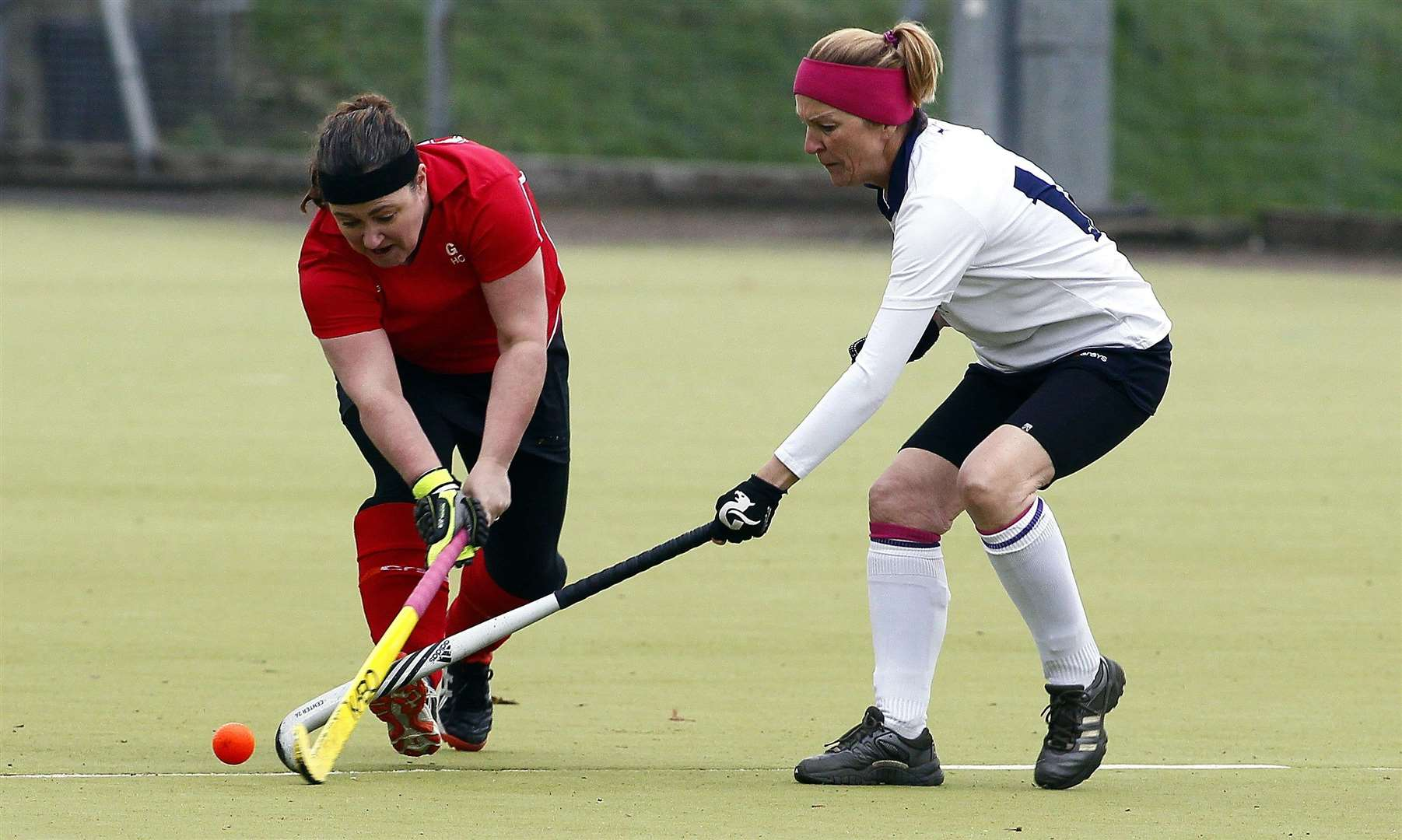 Hopes are high that hockey will continue to be played in Gravesend Picture: Sean Aidan