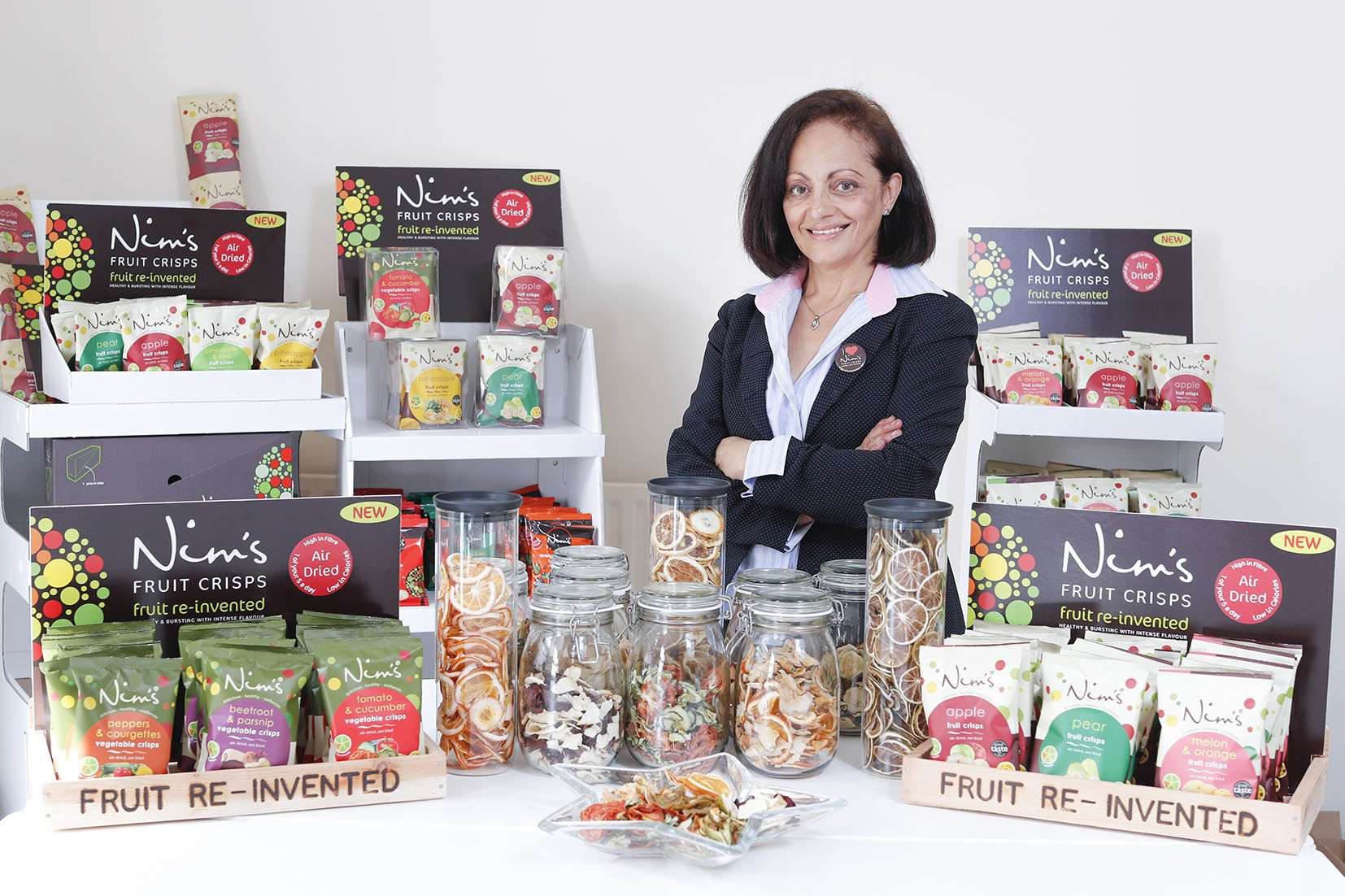 Nim's Fruit Crisps founder Nimisha Raja