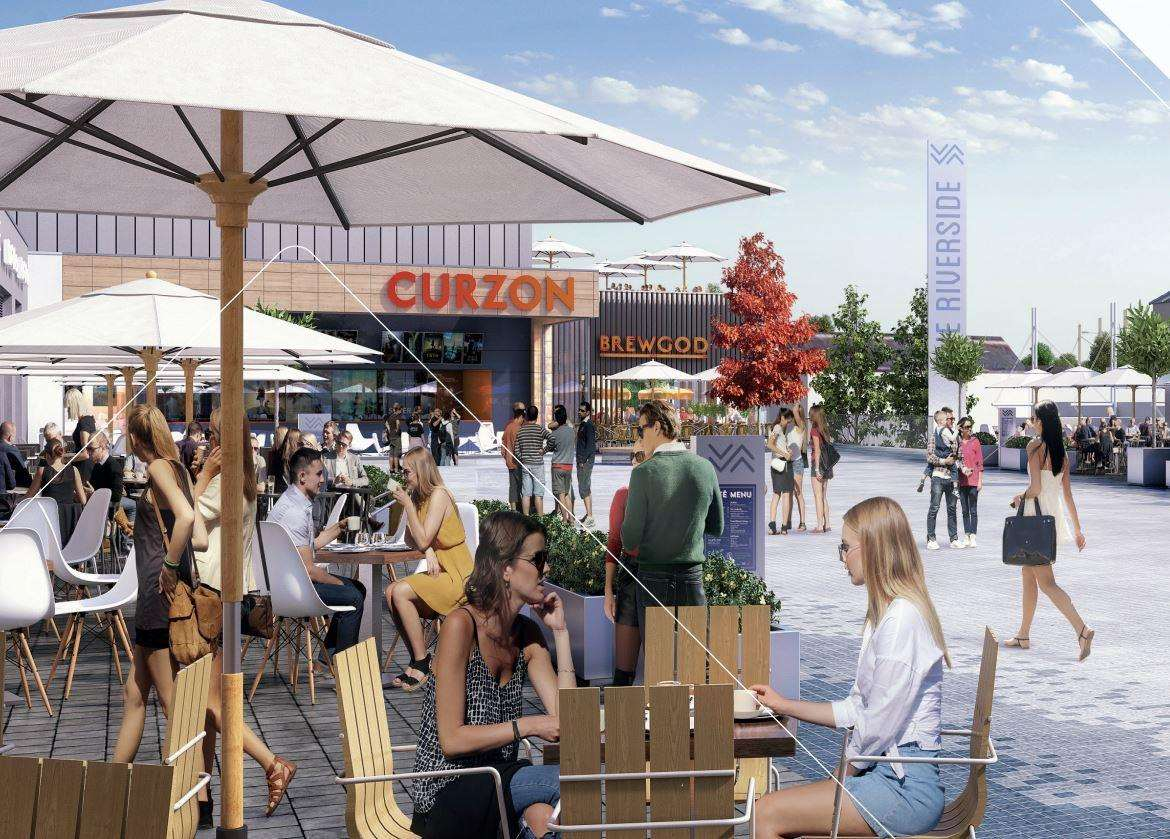 Curzon will run the five-screen cinema at the Riverside development. Picture: Linkcity