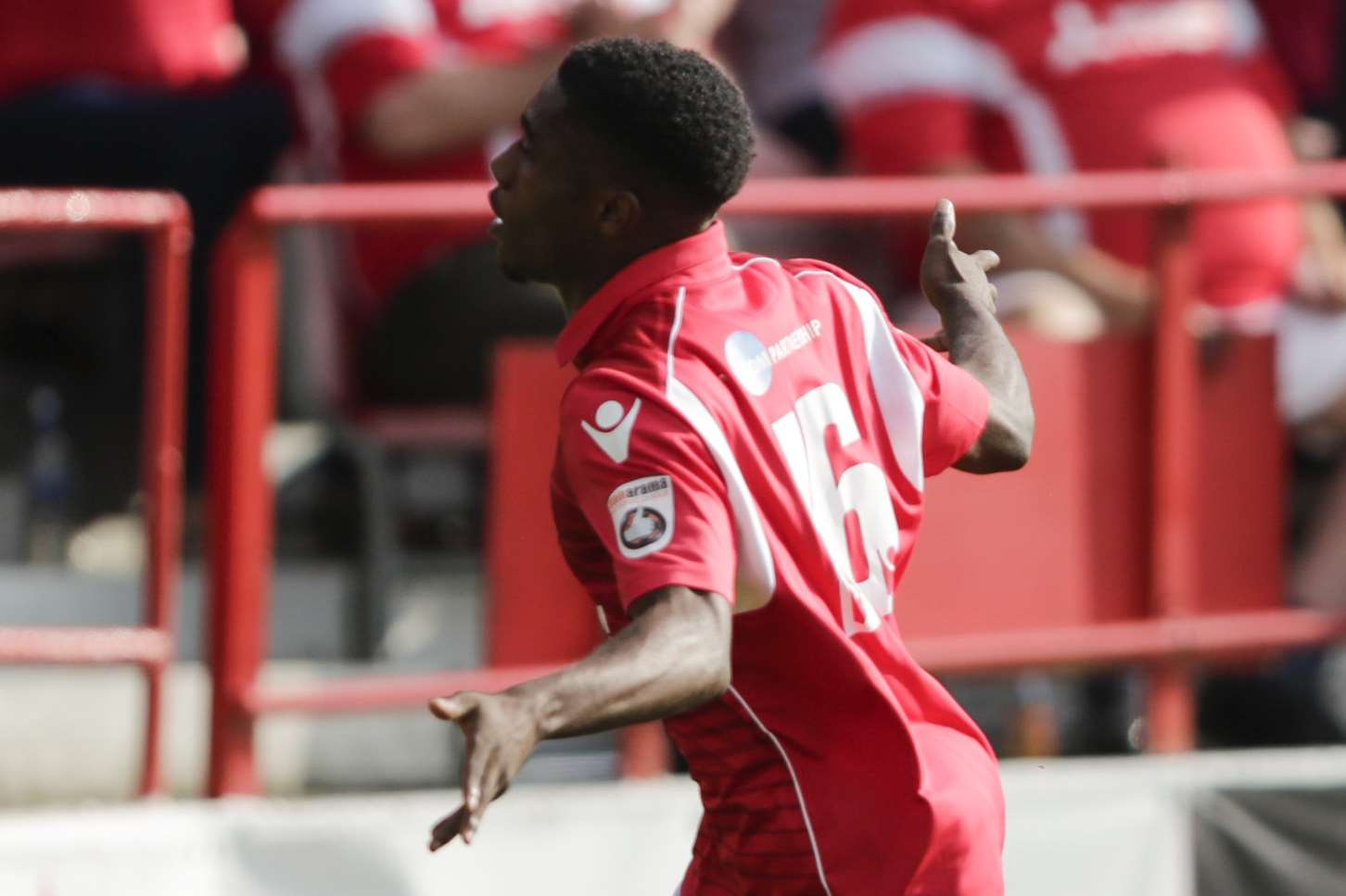 Darren McQueen has agreed a permanent deal with Ebbsfleet Picture: Martin Apps