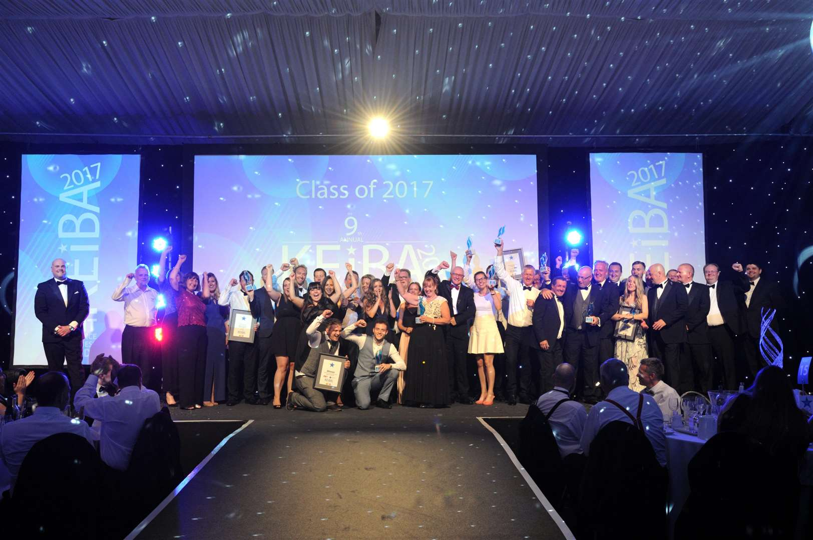 Winners at the 2017 KEiBA event