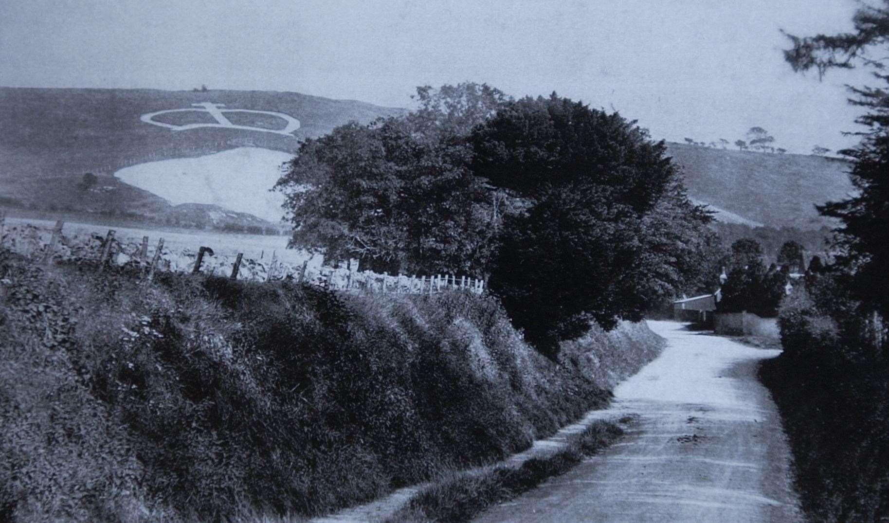 Una foto de archivo de la corona de Wye en 1902