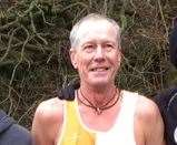 Winning over-60's runner was South Kent Harriers' Ray Pearce