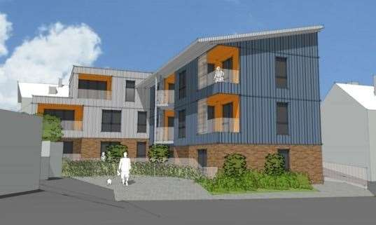 "Proposed flats in Drayton Road, Tonbridge, have been described as ""ugly"""