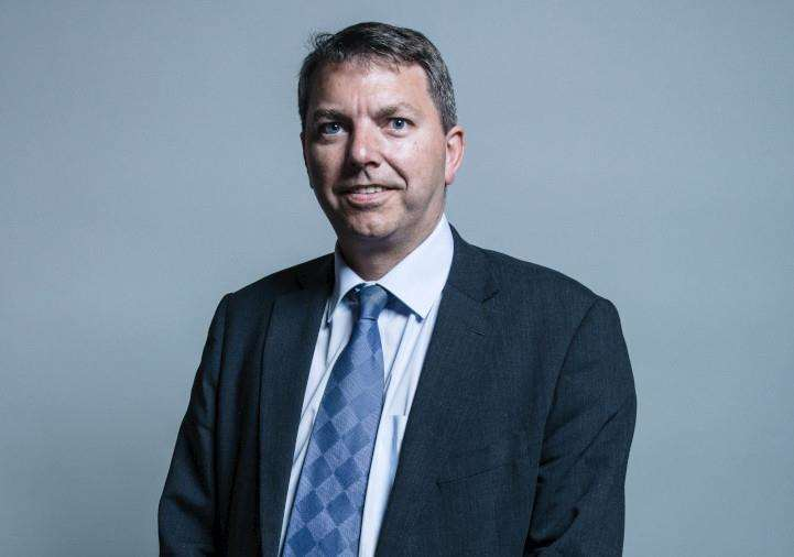 Gareth Johnson - UK Parliament official portraits 2017