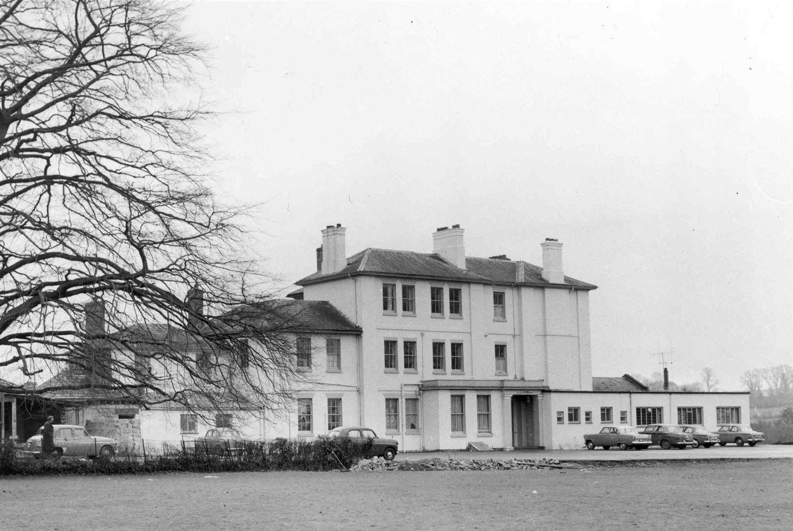 The Great Danes Hotel, at Hollingbourne, in 1962 before it was extensively developed. Picture: Images of Maidstone