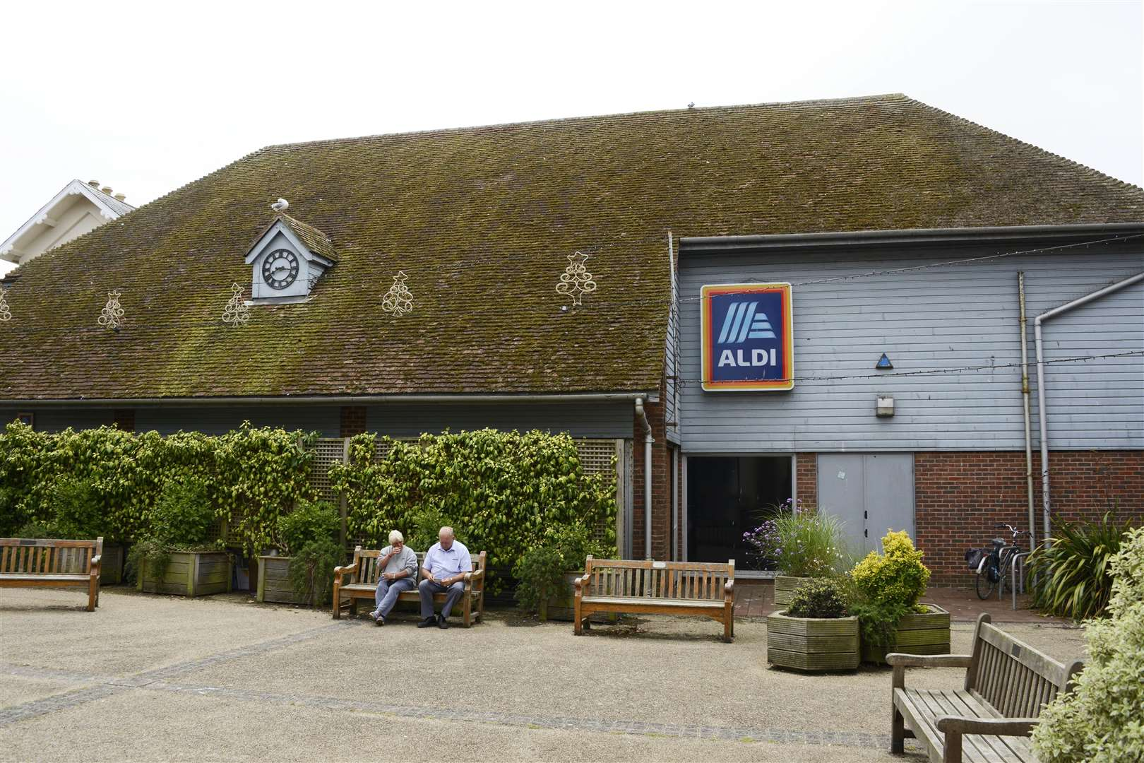 Aldi's current store in Hythe