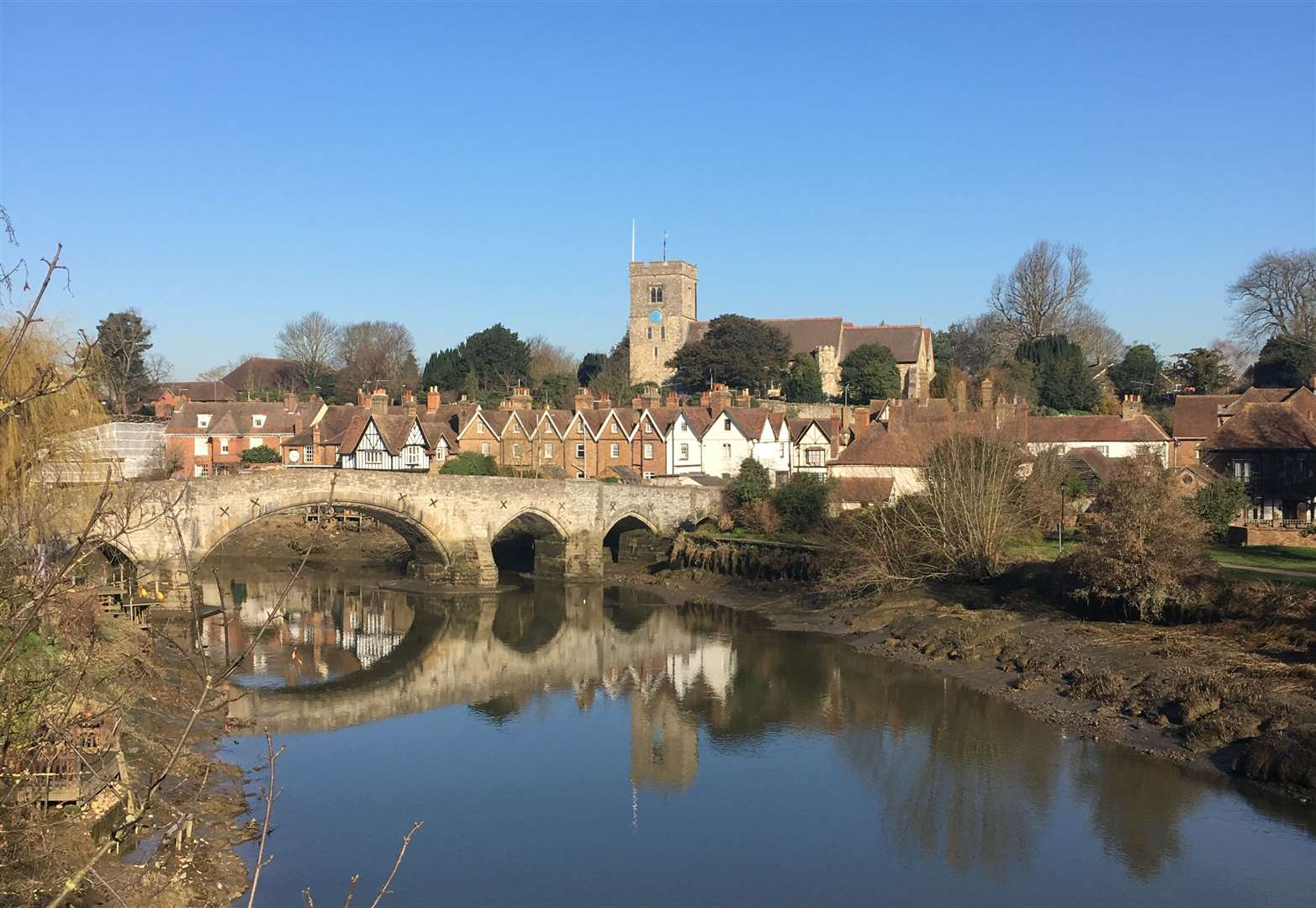 Stunning views in Aylesford. Picture: Luke May