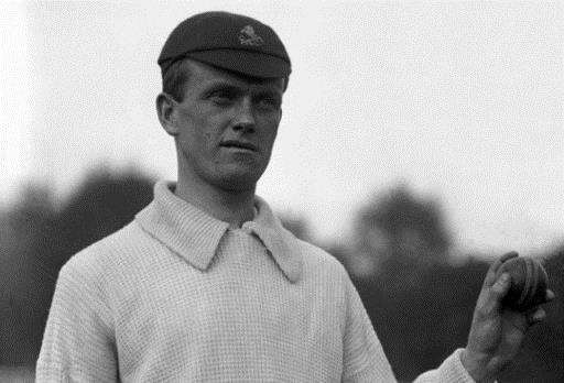 Legendary Kent and England cricketer Colin Blythe