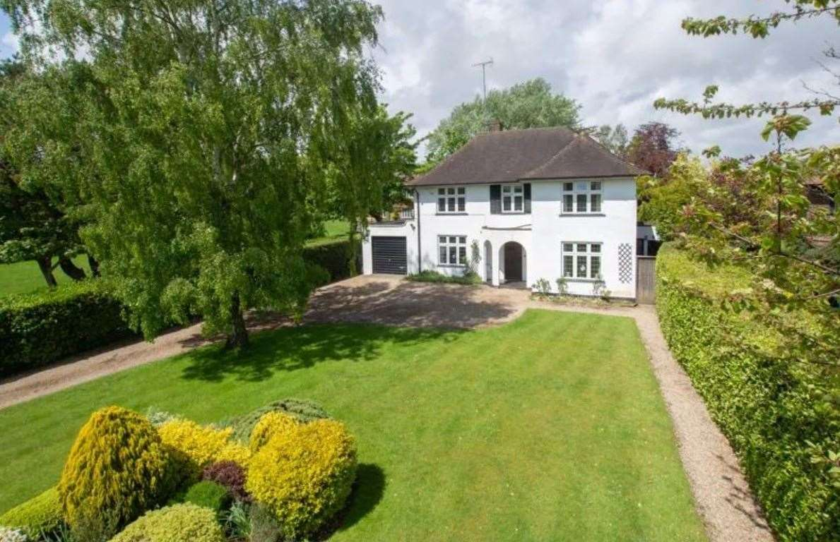 The four-bed detached house in Liverpool Road, Walmer. Picture: Zoopla / Colebrook Sturrock