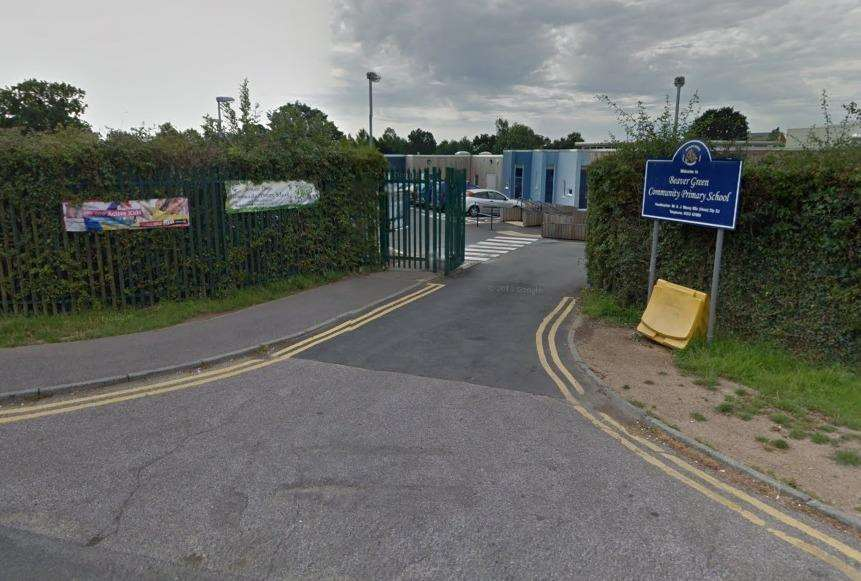 Police cars have been spotted at Beaver Green Community School since the accident. Picture: Google (6432967)