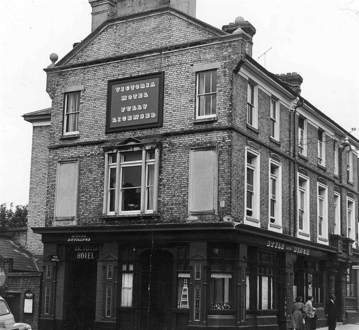 The Victoria Hotel in Week Street, Maidstone. Picture: Images of Maidstone