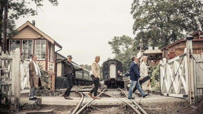 The band Squeeze at the Kent and East Sussex Railway Picture: Rob O'Connor