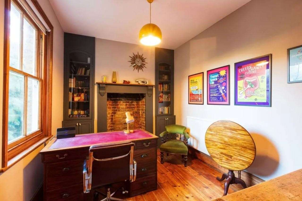 A nice spot for working from home? Picture: Zoopla / Purple Bricks