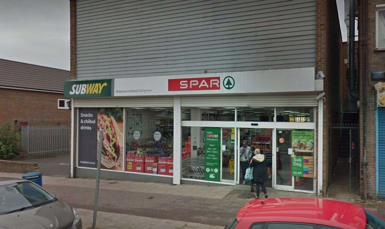Spar in Twydall Green. Picture: Google Maps.