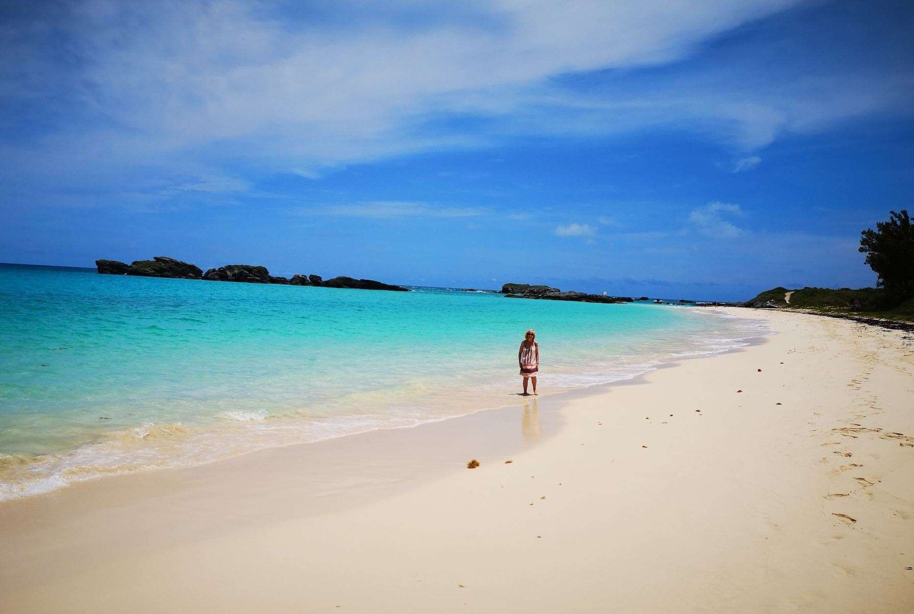 The beaches are just beautiful in Bermuda. Picture: Keith Hunt