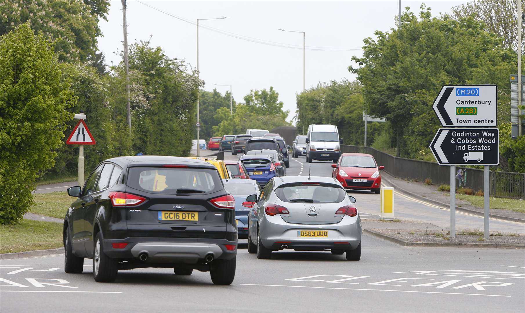 Work to convert the A28 Chart Road into a dual carriageway has been delayed until at least 2022