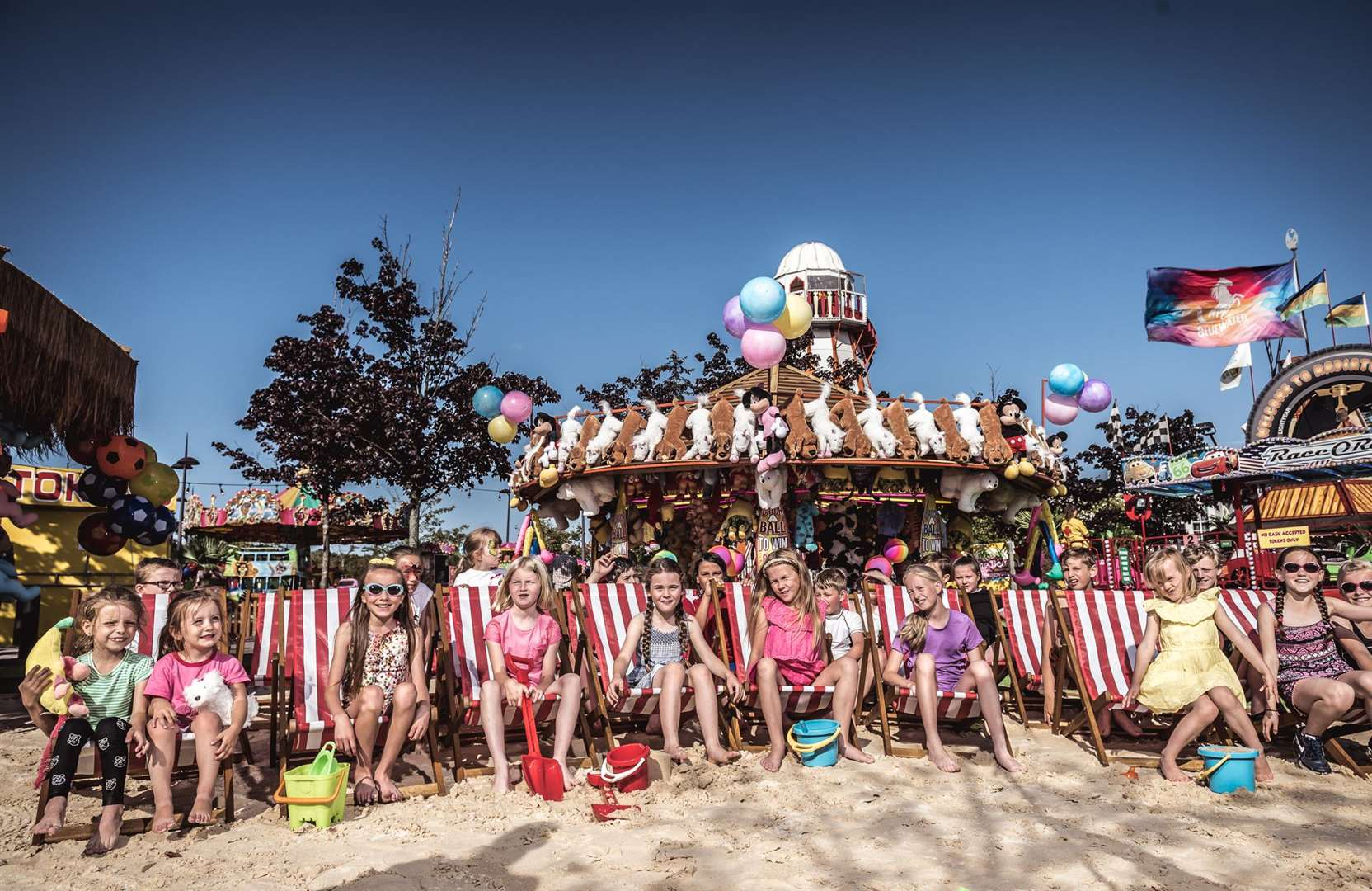 Summer holidays at The Beach at Bluewater