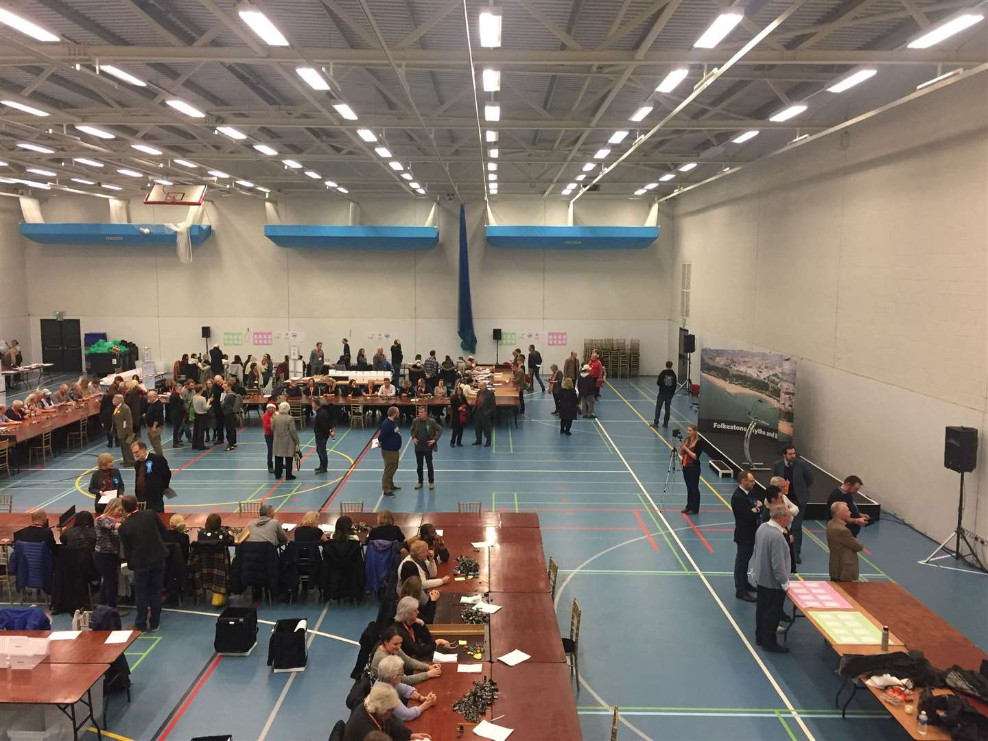 Folkestone and Hythe saw a 67% turnout this election