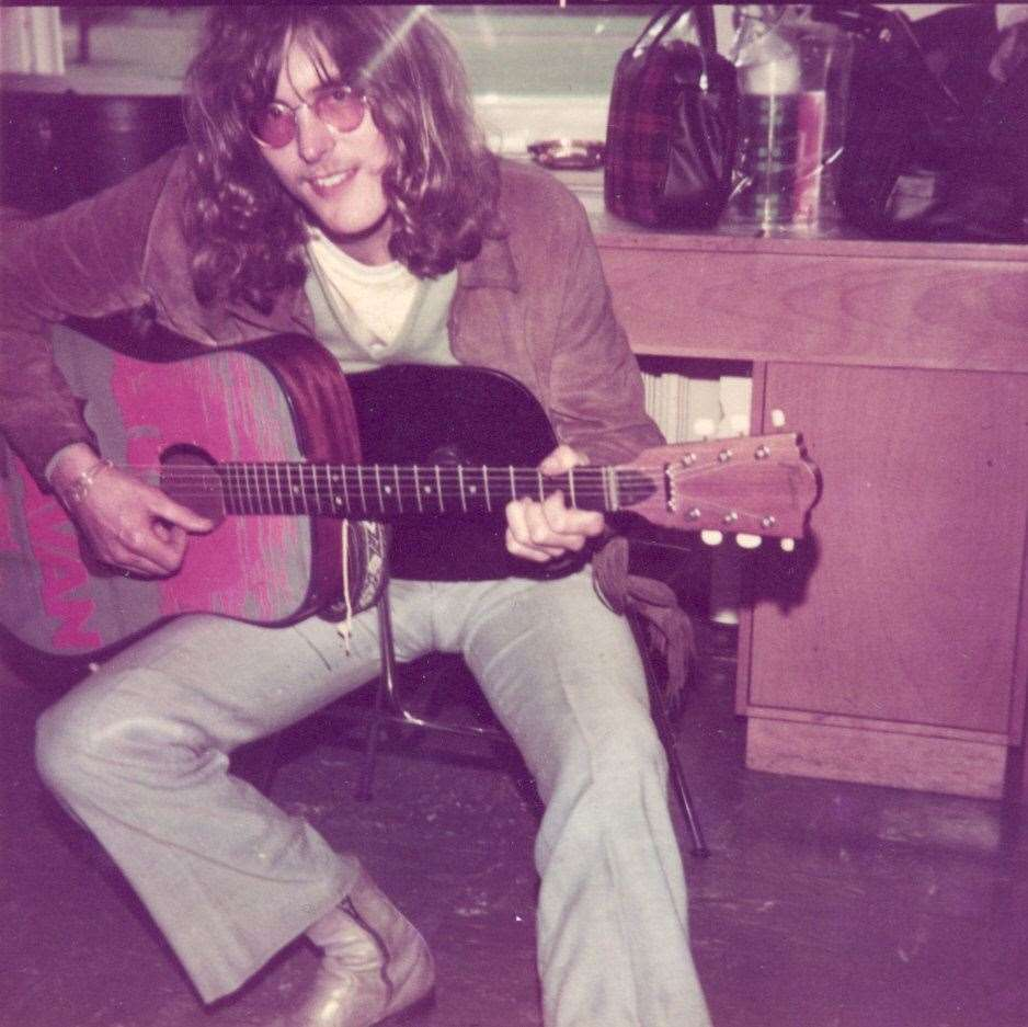 Dave Sinclair in 1970