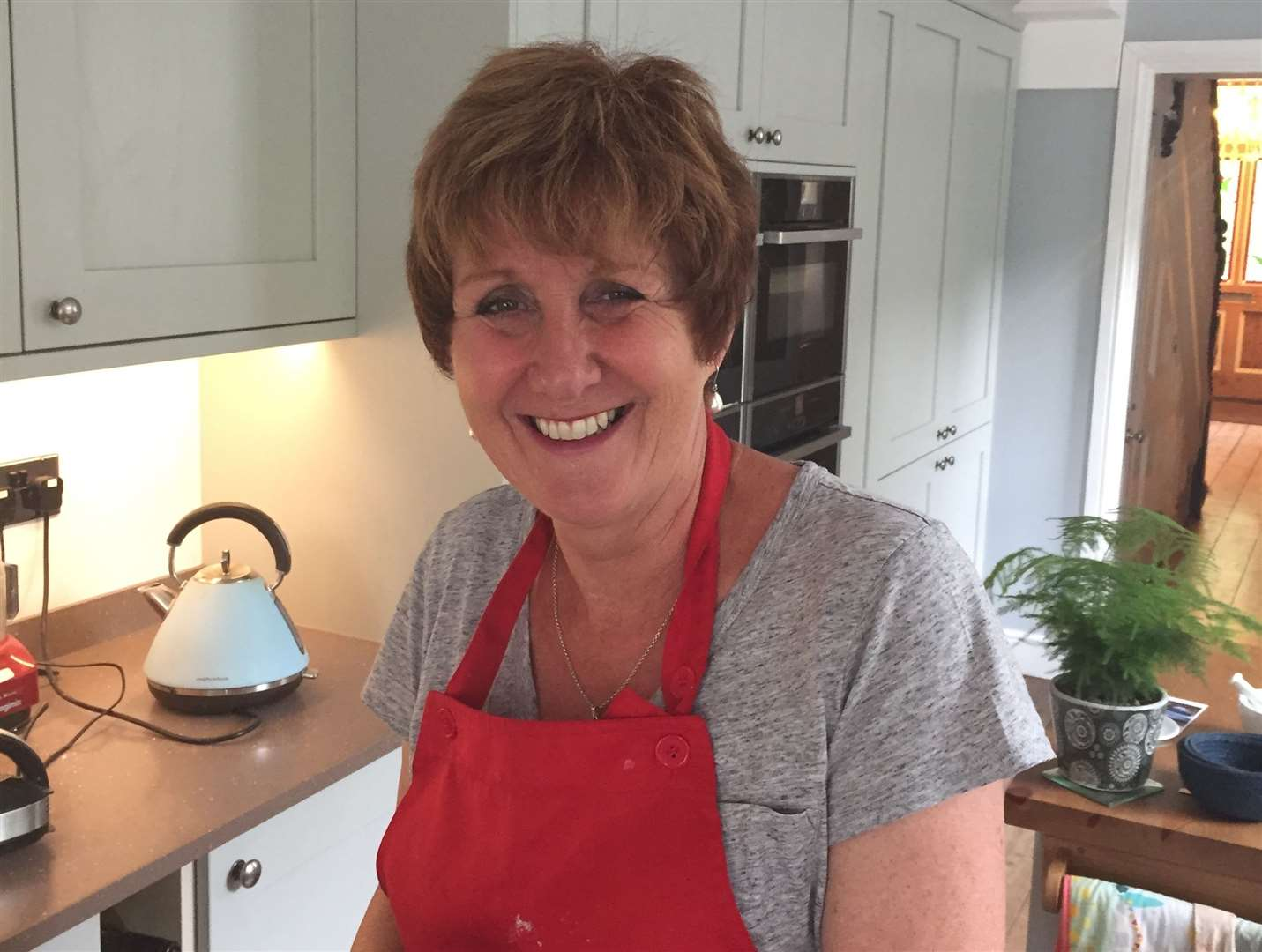 Jane Beedle made it to the final at the Great British Bake Off 2016. (11640045)