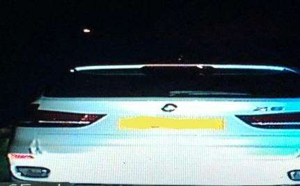 The speeder caught on the M2 Picture: KentPolice RPU (6470152)