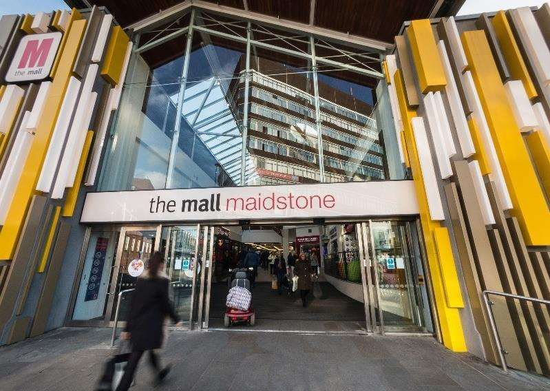 The thief tried to take sunglasses from Vision Express in The Mall in Maidstone