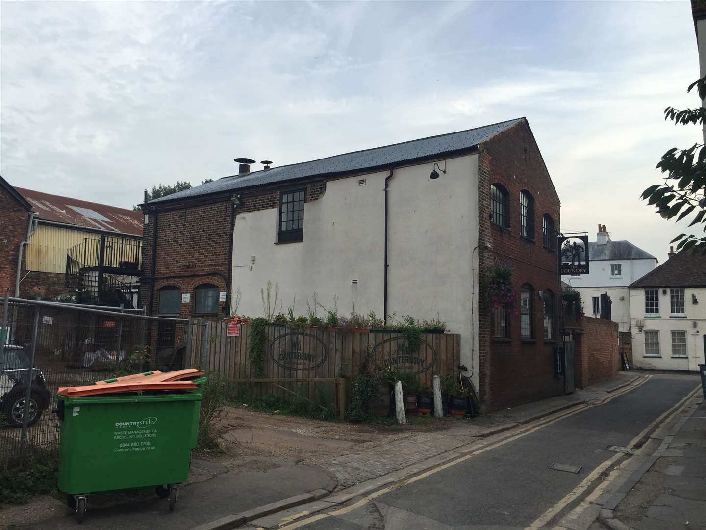 The former Bigglestone Foundary building is being retained