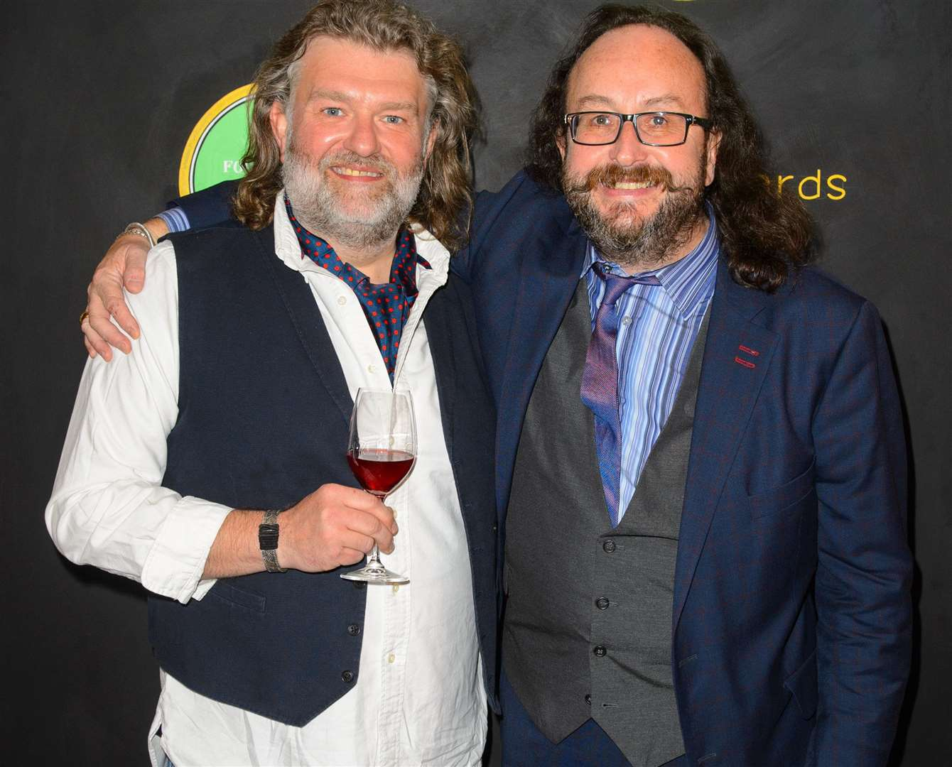 Si King and Dave Myers, The Hairy Bikers, will be on stage in Kent Picture: PA Photos