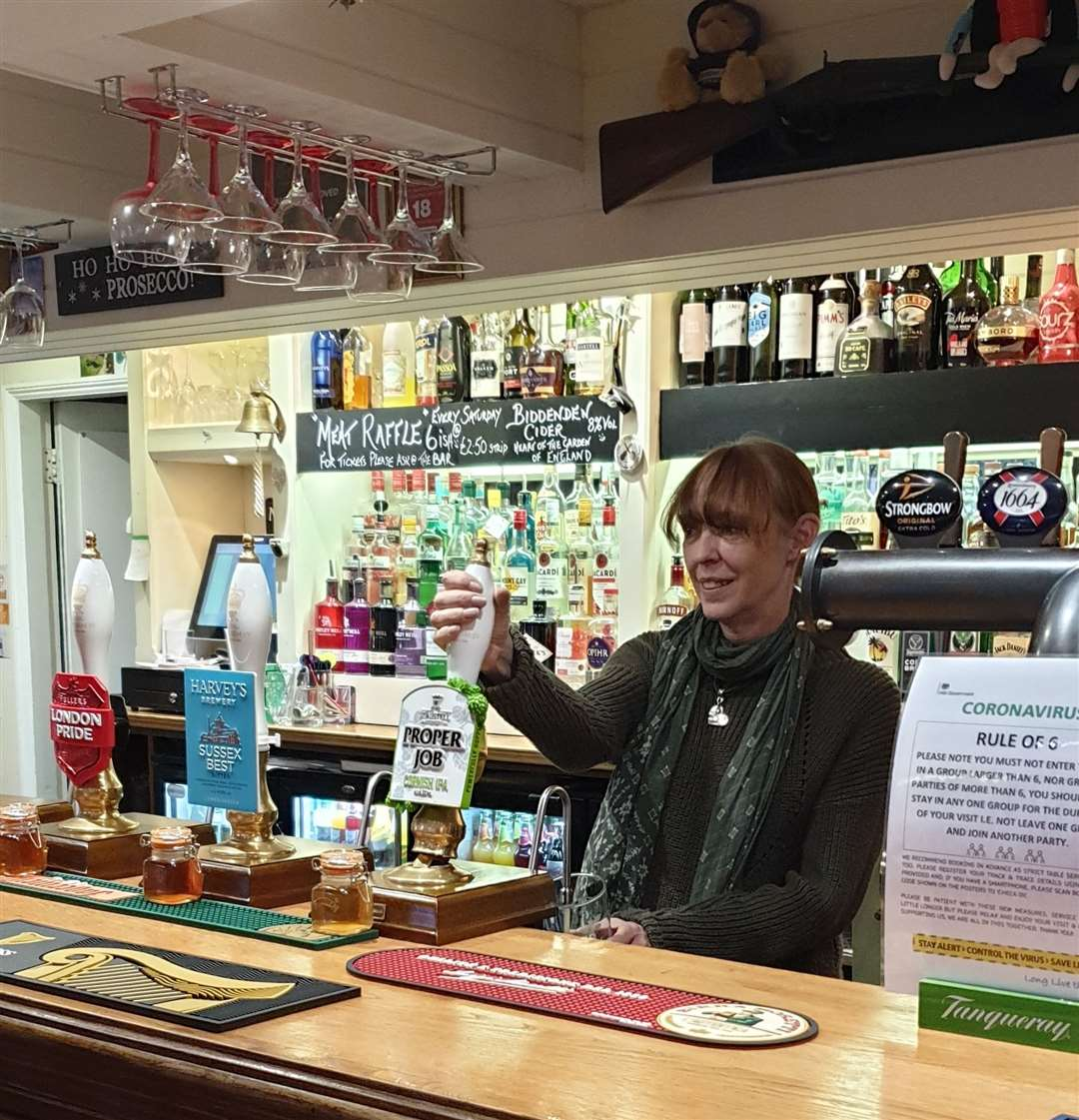 Siobhan Hanley is landlady at the King William IV in Pembury