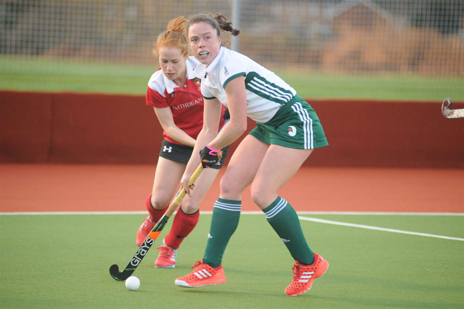 Holcombe's Sarah Jones in action against Canterbury Picture: Steve Crispe