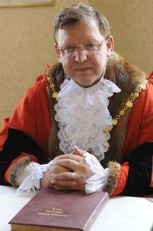 Cllr Ted Watt-Ruffell, the Mayor of Margate