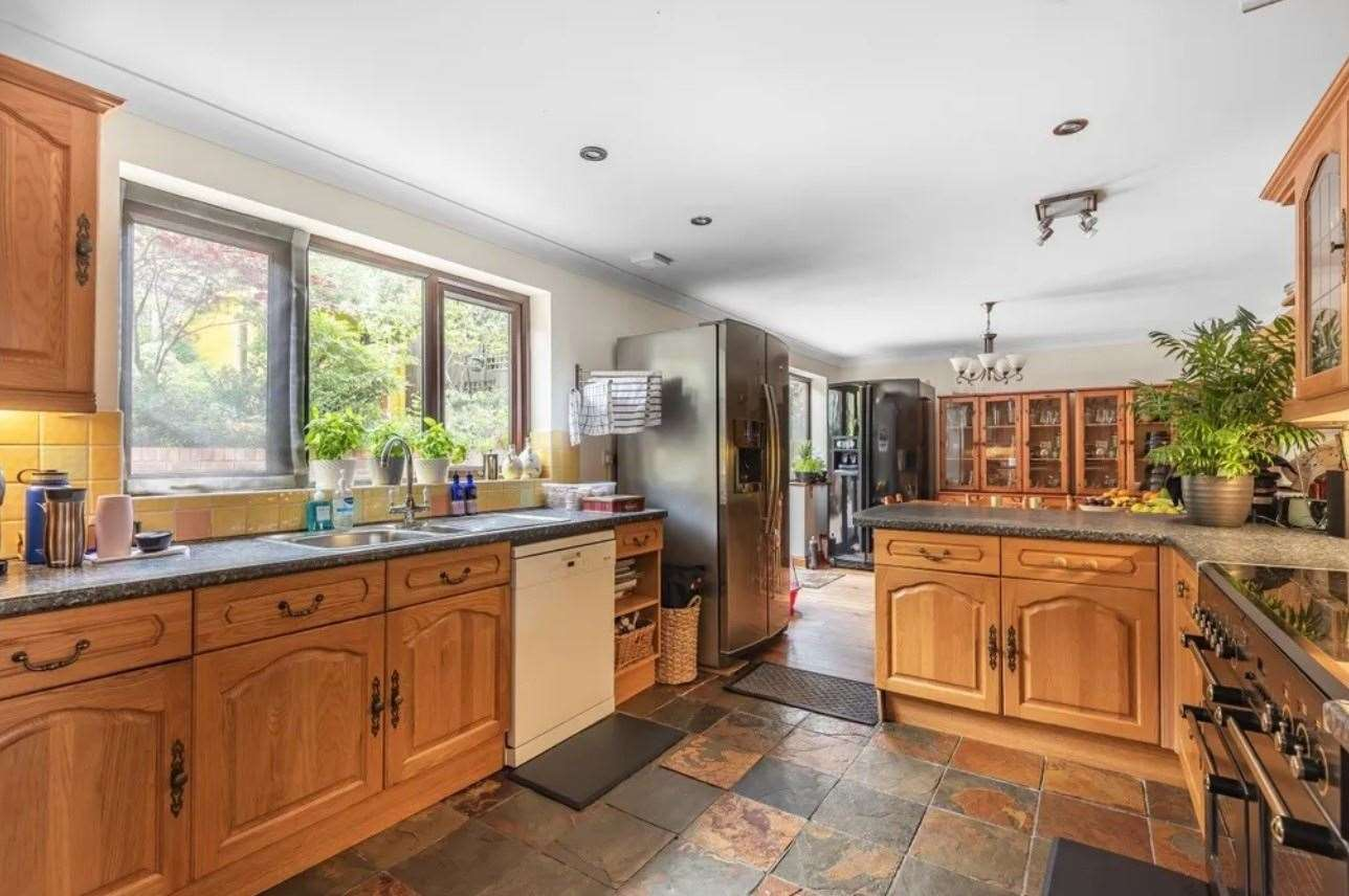 The kitchen area. Picture: Zoopla / Fine & Country