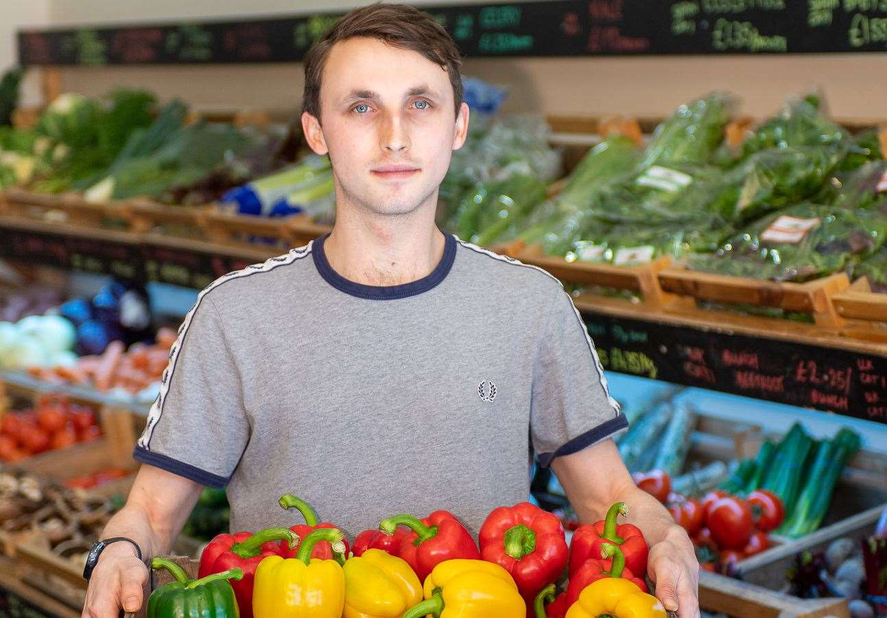 Produce store Locality in the town set to welcome back customers