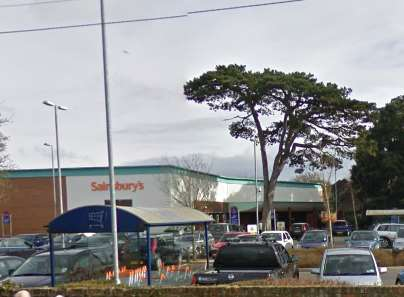 Sainsbury's car park in New Romney. Picture: Google