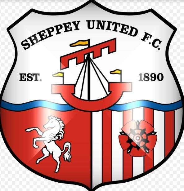 Sheppey United logo. Picture from Sheppey United FC