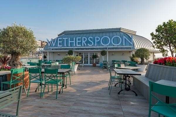 The UK's biggest Wetherspoon the Royal Victoria Pavilion in Ramsgate