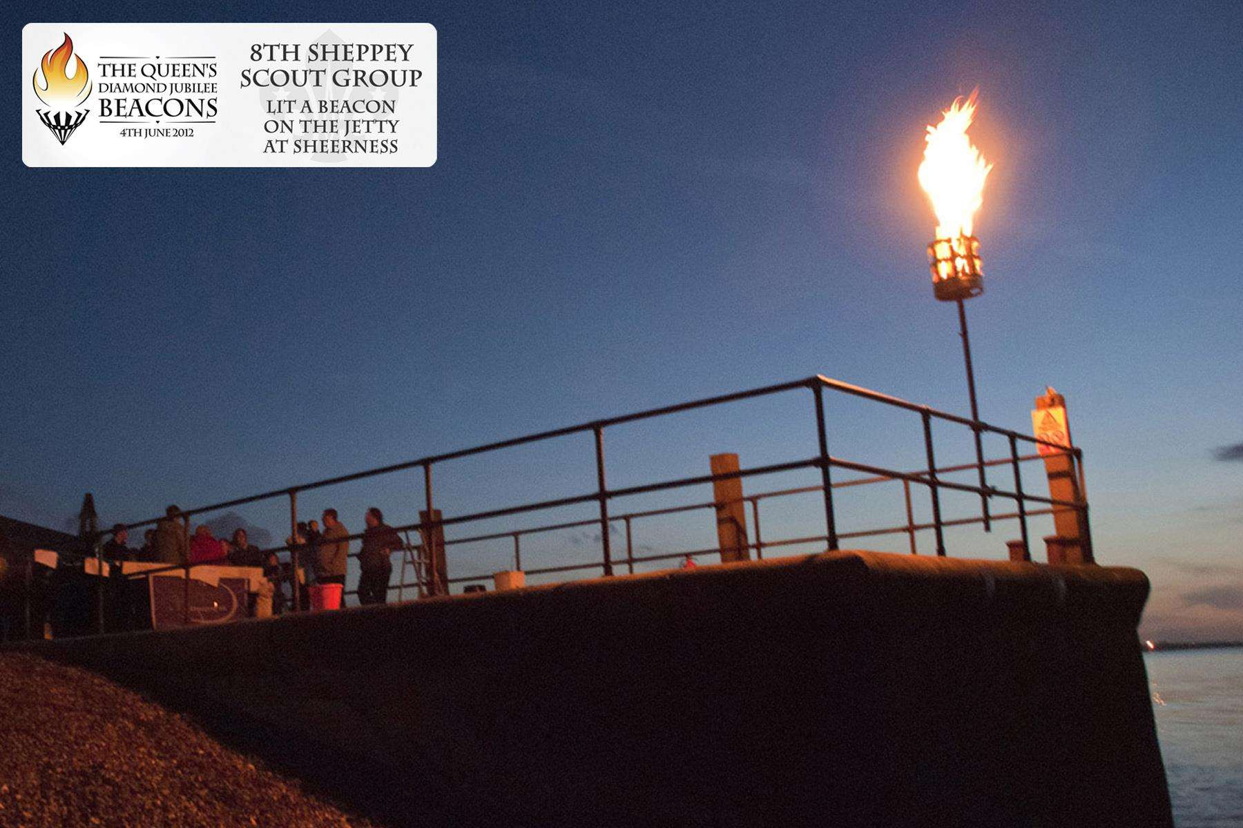 Beacon move: 8th Sheppey Scouts' beacon will be lit in front of Sheppey Sailing Club this year and not on Neptune Jetty (5292955)