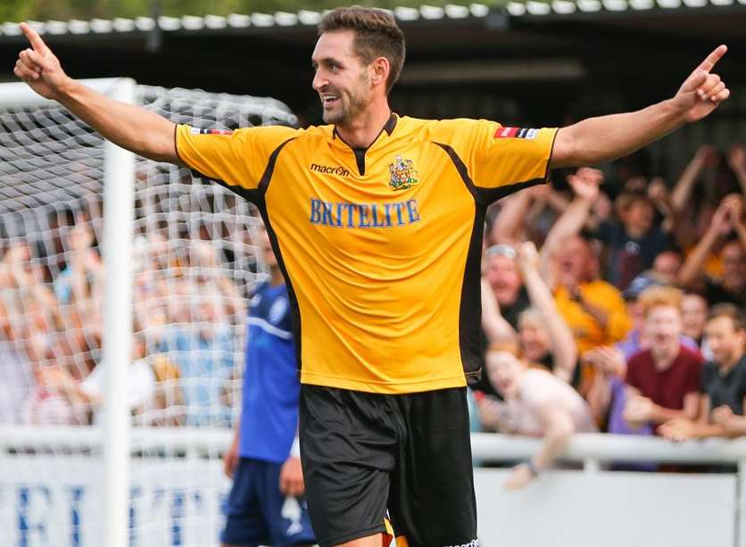Maidstone striker Jay May Picture: Matthew Walker