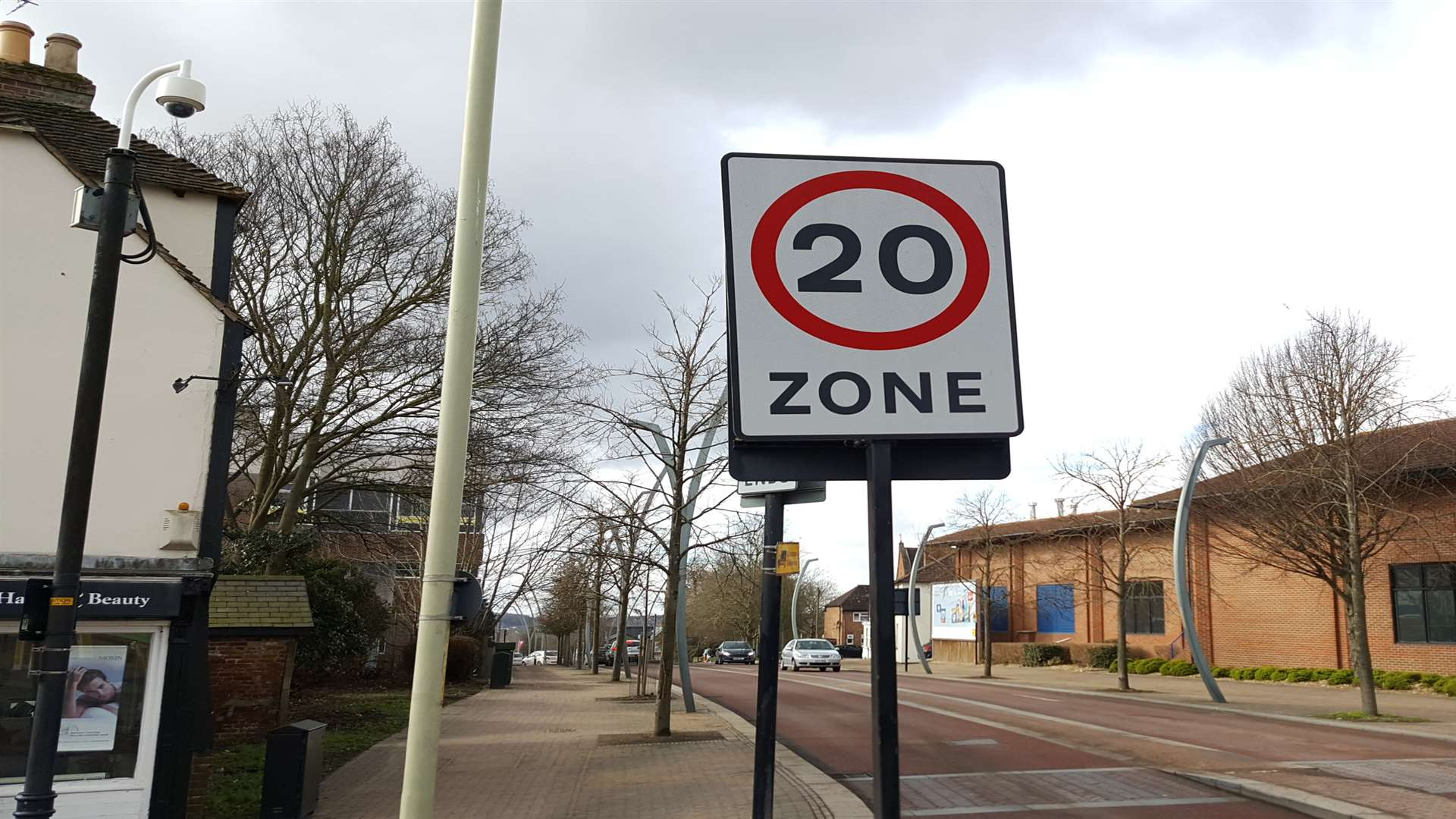 Bowles was caught travelling 70mph in the 20 zone