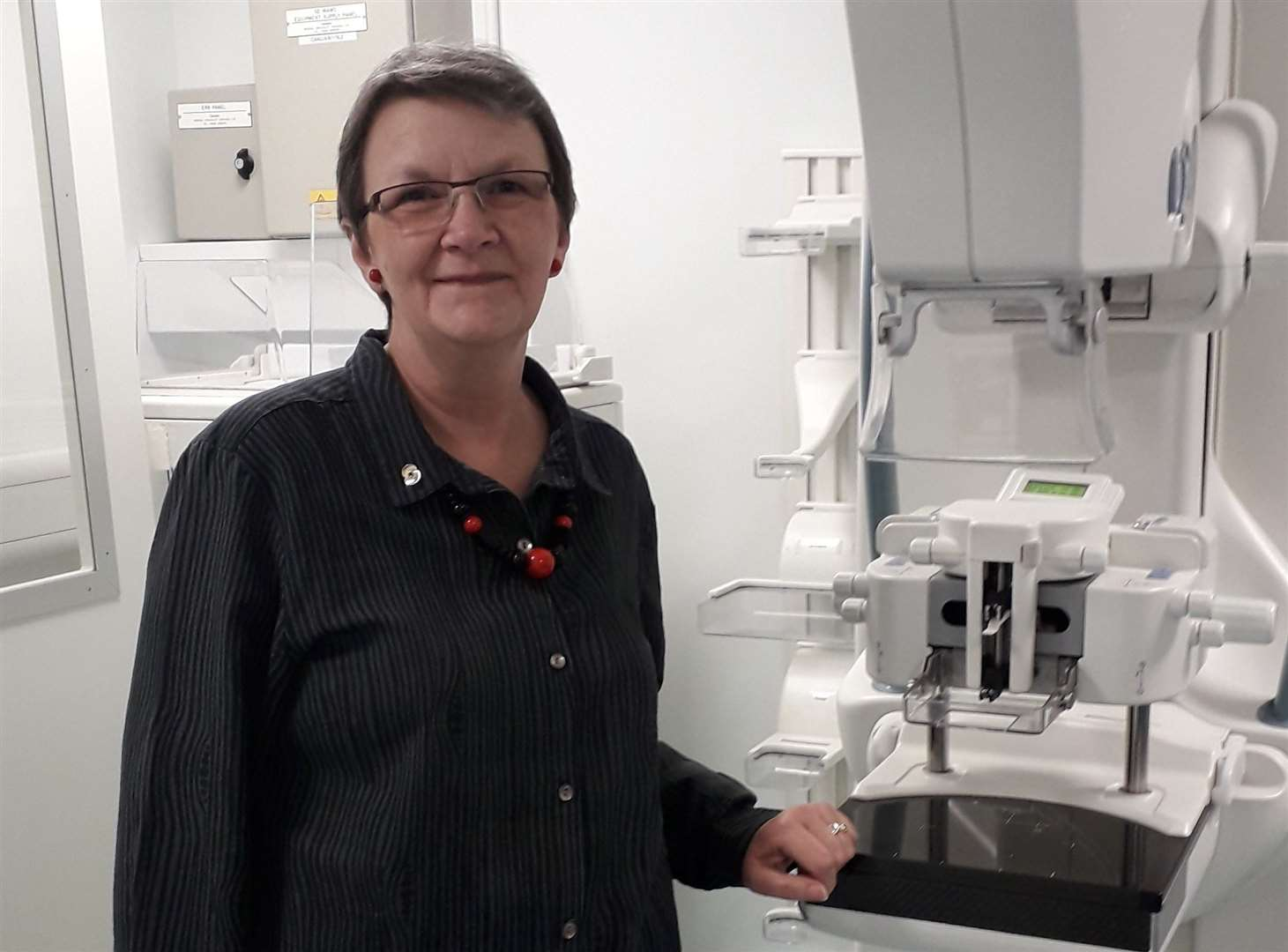 Lis Blandon was diagnosed with breast cancer after a routine screening appointment at the Kent and Canterbury Hospital