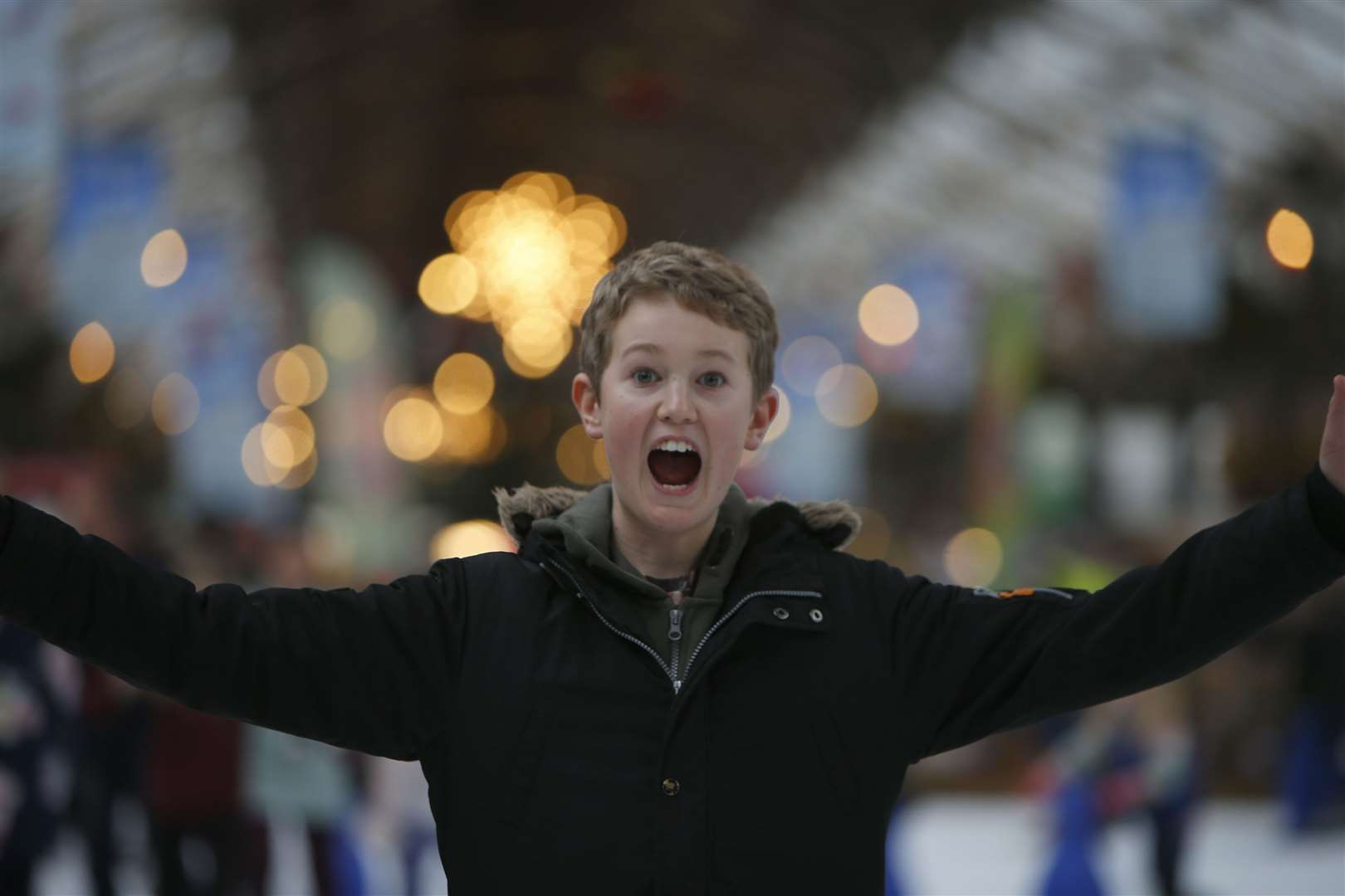 A skater during last year's event Picture: Andy Jones