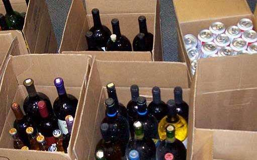 A booze duty scam netted a New Romney haulage director up to £800,000. Stock image