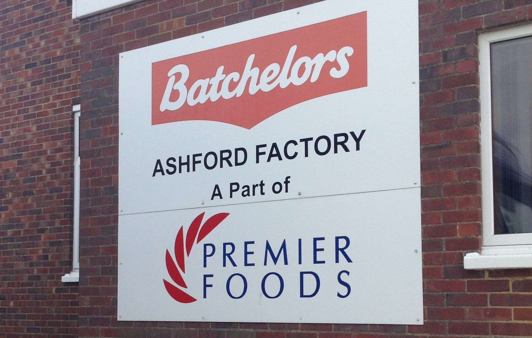 The Batchelors Cup-a-Soup factory in Ashford